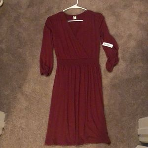 Old Navy XS petite women's waist defining dress